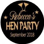 Personalised Hen Night Sticker Design 22